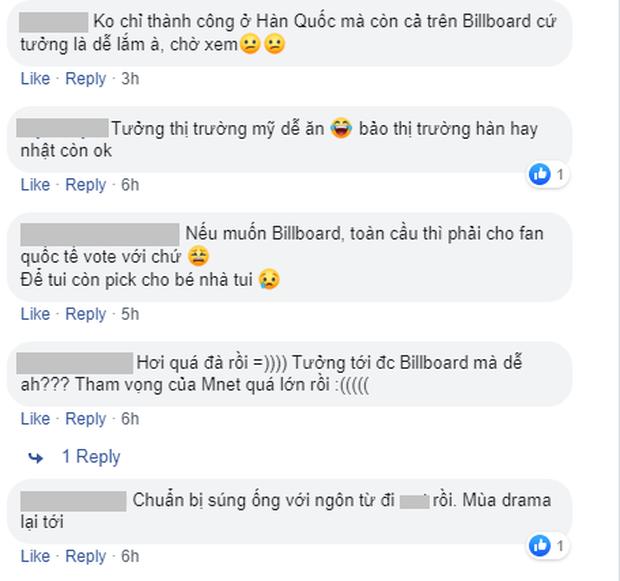Bày tỏ tham vọng tấn công Billboard, Produce X 101 bị netizen ném đá không trượt phát nào - Ảnh 5.