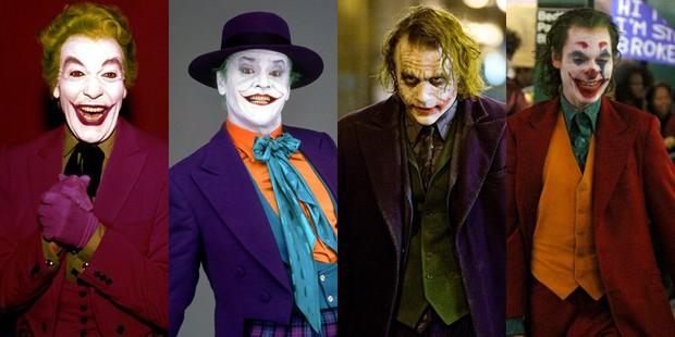 5 tên Joker được bê lên màn ảnh rộng, đâu mới là gã hề điên loạn nhất? - Ảnh 1.