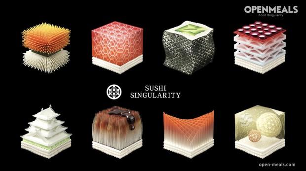 Lên được vũ trụ rồi thì không gì là không thể, con người đã có thể ăn sushi làm từ... dữ liệu sinh học - Ảnh 5.