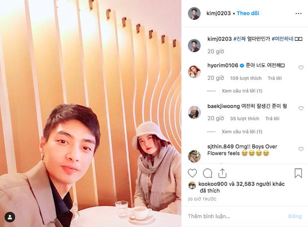 Hình ảnh gây bão hôm nay: Tài tử Vườn sao băng và Goo Hye Sun tái hợp sau 10 năm, loạt diễn viên vào bình luận - Ảnh 1.