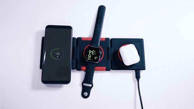 Không AirPower cũng chẳng sao vì đã có đế sạc không dây xếp hình: Sạc iPhone, Apple Watch, Airpods cùng lúc, giá chưa tới 1.4 triệu! - Ảnh 3.