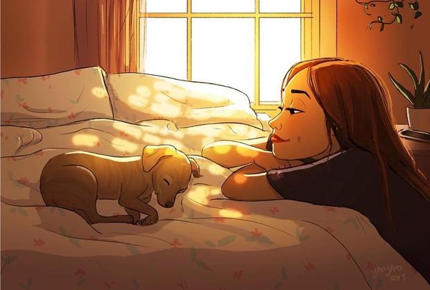 Đây chính là lý do người ta cứ nói người yêu có thể không có, nhưng chó nhất định phải có một con - Ảnh 7.