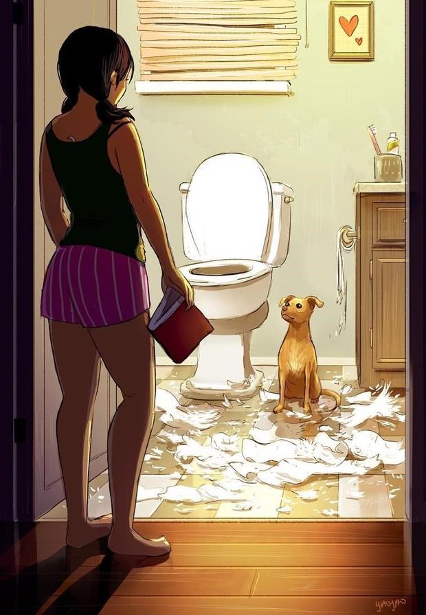 Đây chính là lý do người ta cứ nói người yêu có thể không có, nhưng chó nhất định phải có một con - Ảnh 13.