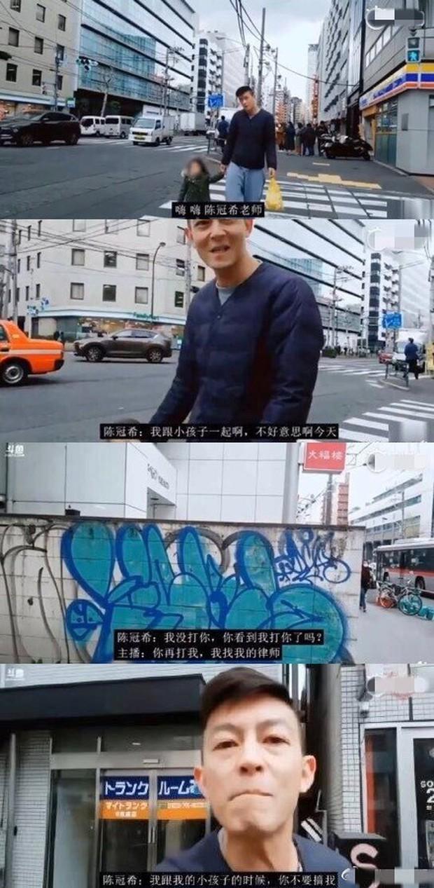 Nhận gách đá vì bám đuôi, chụp lén Trần Quán Hy và con gái, hotboy Trung Quốc đòi tự sát - Ảnh 3.