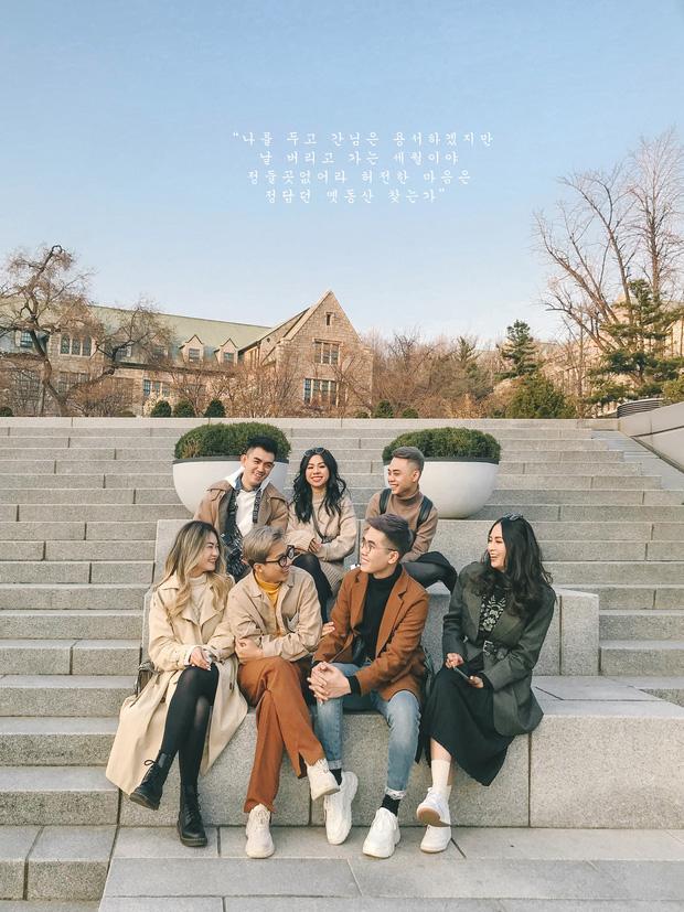 Thêm một bộ ảnh du lịch Hàn đẹp như bìa tạp chí của nhóm bạn thân người Việt: Đẹp xuất sắc vậy rồi ai chơi lại? - Ảnh 1.