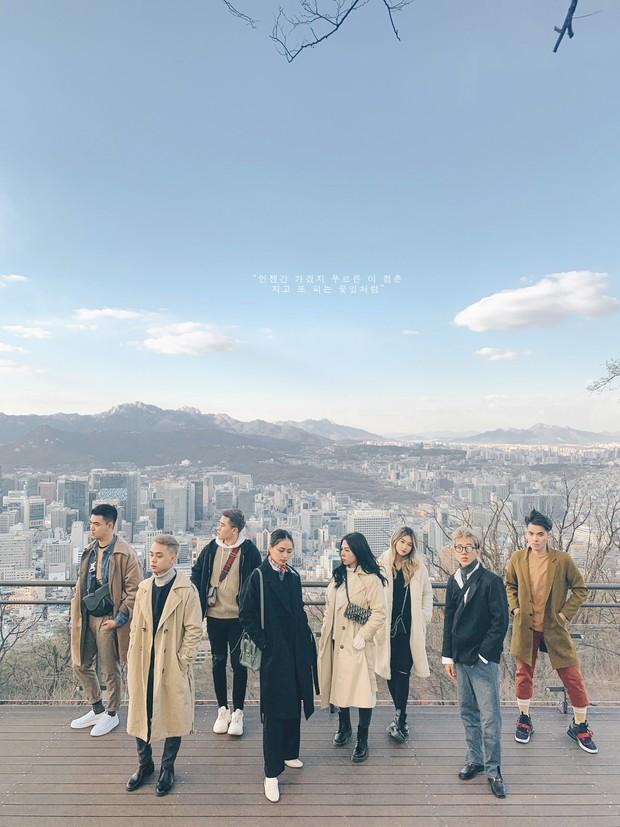Thêm một bộ ảnh du lịch Hàn đẹp như bìa tạp chí của nhóm bạn thân người Việt: Đẹp xuất sắc vậy rồi ai chơi lại? - Ảnh 7.