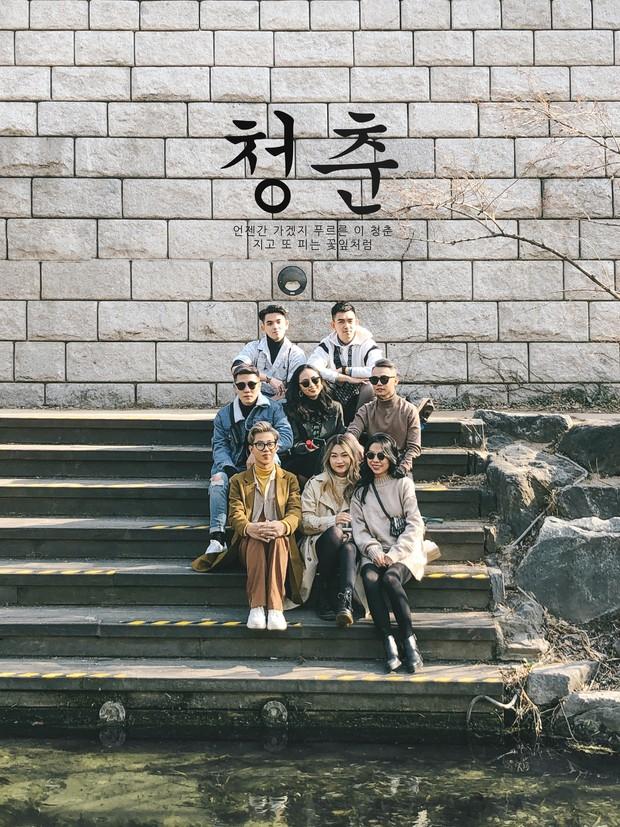 Thêm một bộ ảnh du lịch Hàn đẹp như bìa tạp chí của nhóm bạn thân người Việt: Đẹp xuất sắc vậy rồi ai chơi lại? - Ảnh 9.