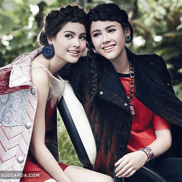 Anh chị em ruột của sao hạng A Thái Lan: Người vừa đẹp vừa siêu tài giỏi, kẻ kém sắc đến ngỡ ngàng - Ảnh 12.