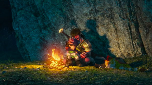Bộ truyện Dấu Ấn Rồng Thiêng đình đám tuổi thơ 8x, 9x tung trailer hoạt hình 3D! - Ảnh 2.