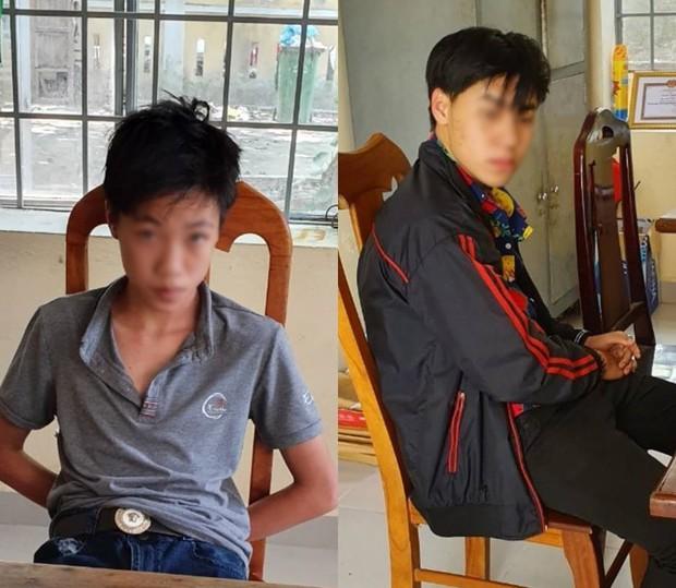 CSGT Đà Nẵng bắt nóng 2 thiếu niên cướp giật điện thoại của 2 phụ nữ chạy xe máy - Ảnh 4.