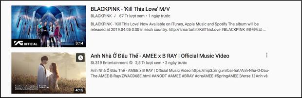 Chỉ mất 2 ngày, MV debut của tân binh AMEE đã leo thẳng lên Top 2 Trending Youtube, bám sát BLACKPINK - Ảnh 2.