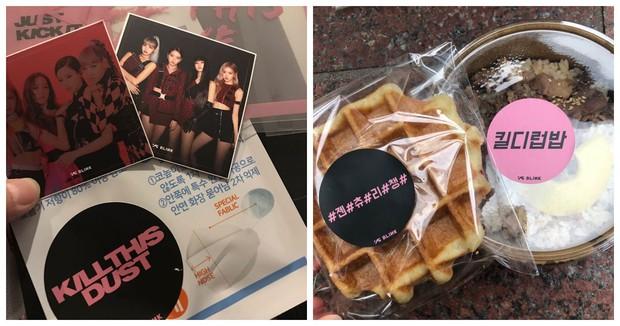 Black Pink tâm lý lắm: tặng fan khẩu trang tránh bụi làm hỏng da, riêng Jennie còn tặng cả mỹ phẩm Hera đắt đỏ - Ảnh 2.