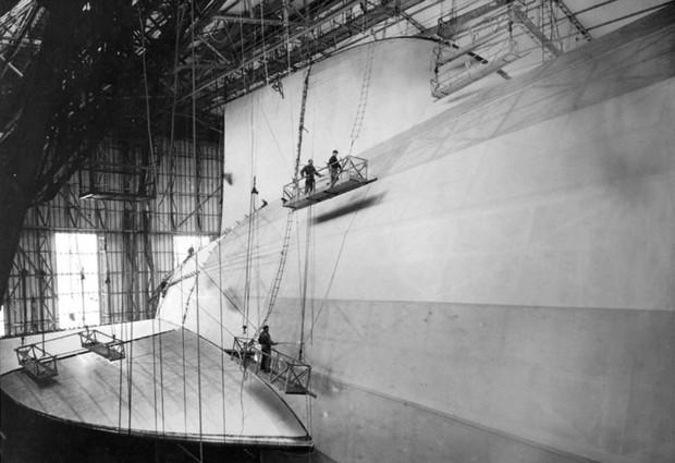 """Ảnh hiếm trước và sau """"thảm họa Titanic trên không"""" Hindenburg - Ảnh 1."""
