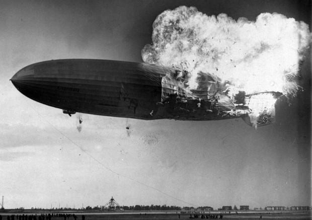 """Ảnh hiếm trước và sau """"thảm họa Titanic trên không"""" Hindenburg - Ảnh 11."""