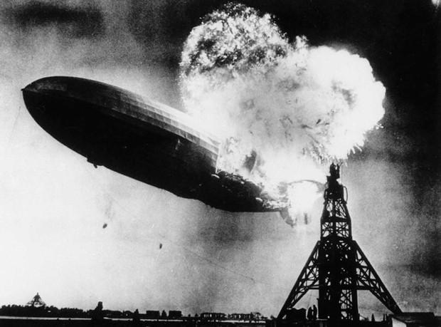 """Ảnh hiếm trước và sau """"thảm họa Titanic trên không"""" Hindenburg - Ảnh 12."""