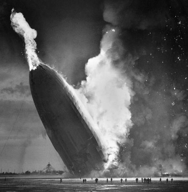 """Ảnh hiếm trước và sau """"thảm họa Titanic trên không"""" Hindenburg - Ảnh 13."""