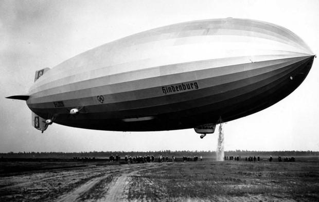 """Ảnh hiếm trước và sau """"thảm họa Titanic trên không"""" Hindenburg - Ảnh 3."""