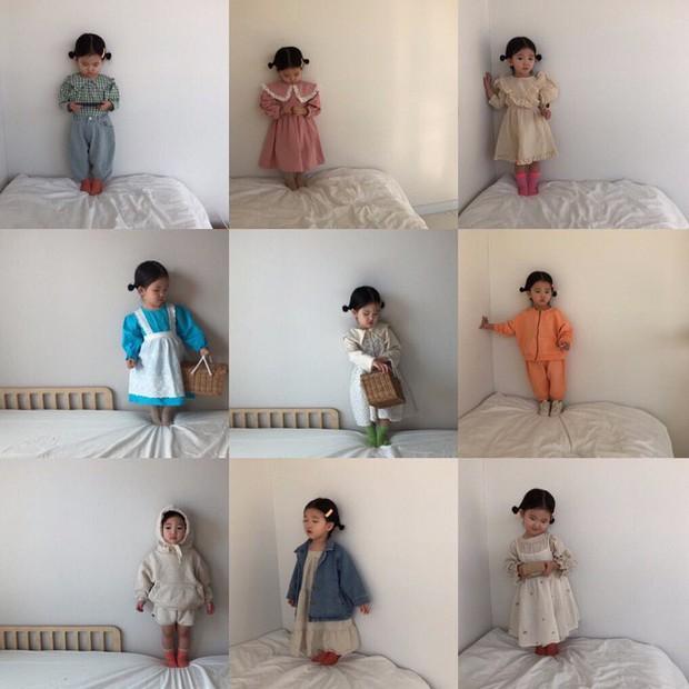 Các mẹ có con gái hẳn cũng muốn con mình lúc nào cũng mặc đẹp và xinh như cô nhóc Hàn Quốc này - Ảnh 3.