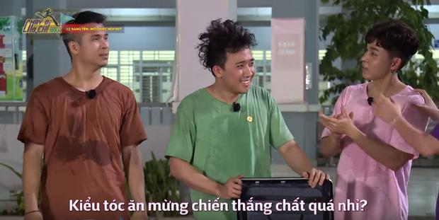 BB Trần bị loại đầu tiên ở tập 1 Running Man Việt: Thà thua trong rạng ngời, còn hơn thắng mà te tua! - Ảnh 1.