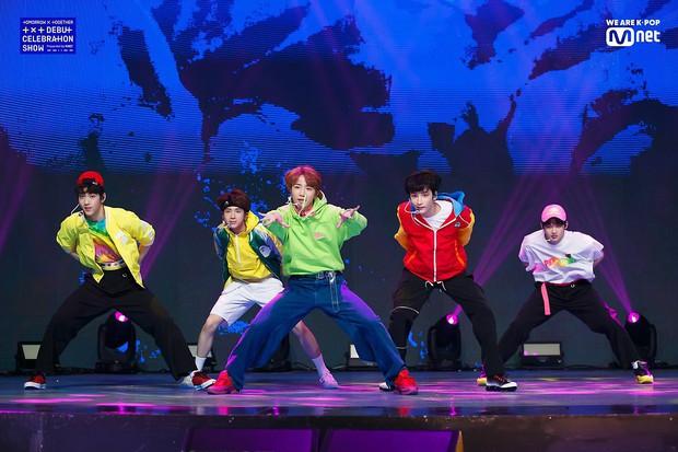 Thực hư TXT mới có 5 bài hát đã mở tour Mỹ, tổ chức cùng ngày và địa điểm với concert BTS để cạnh tranh? - Ảnh 2.