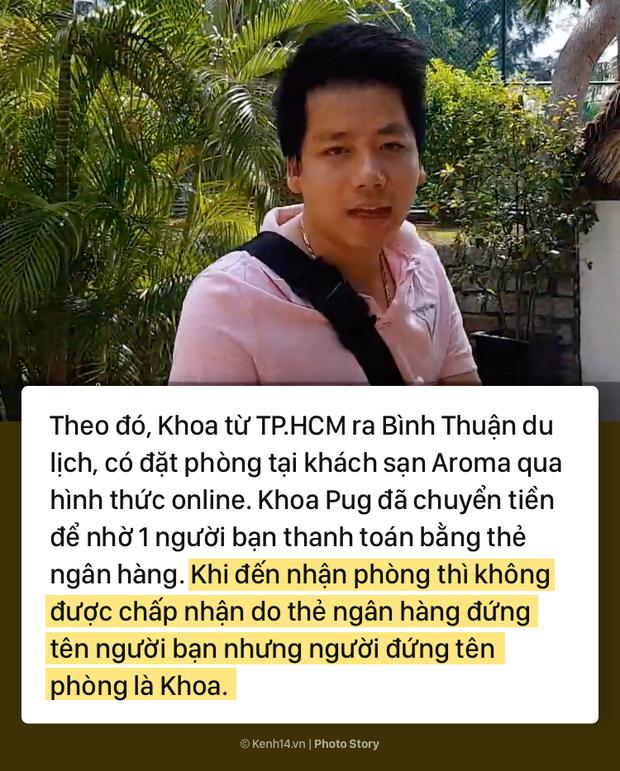 Toàn cảnh lùm xùm giữa Khoa Pug và resort Aroma ở Bình Thuận - Ảnh 3.