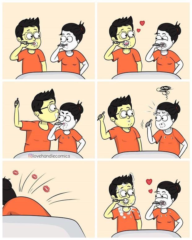 Bộ tranh cho bạn thấy tình yêu đúng là một gánh nặng ngọt ngào theo mọi nghĩa luôn! - Ảnh 1.
