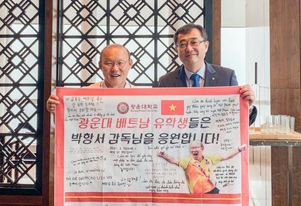 HLV Park Hang-seo bất ngờ thành… giáo sư danh dự tại Đại học của Hàn Quốc - Ảnh 2.