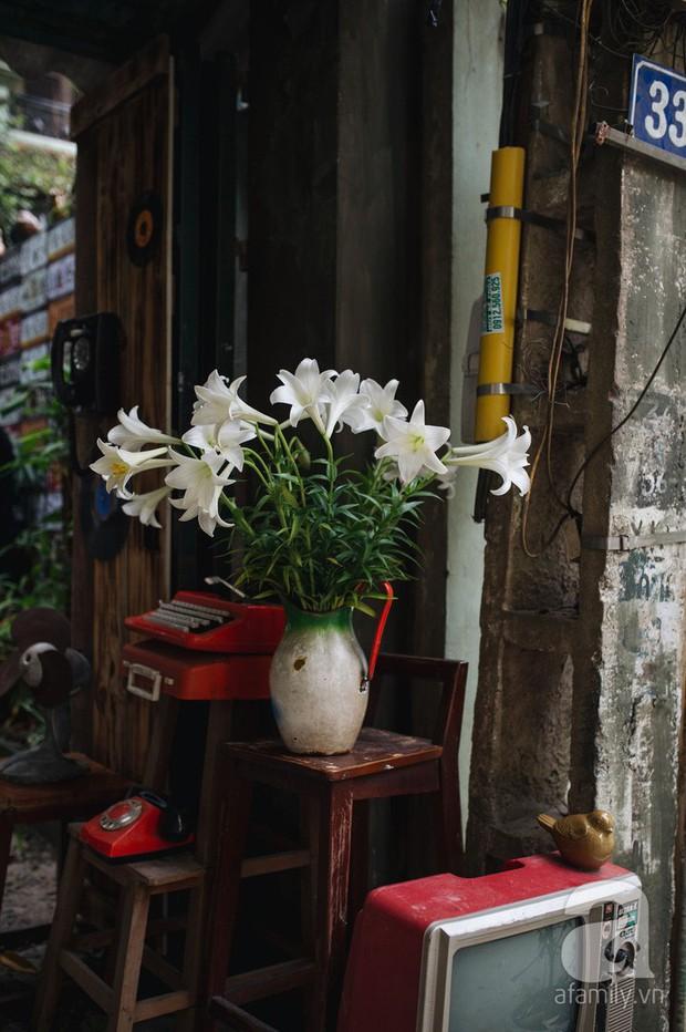 Tháng 4 về, Hà Nội lại dịu dàng những gánh loa kèn trắng tinh khôi, thơm nồng nàn khắp các góc phố - Ảnh 3.