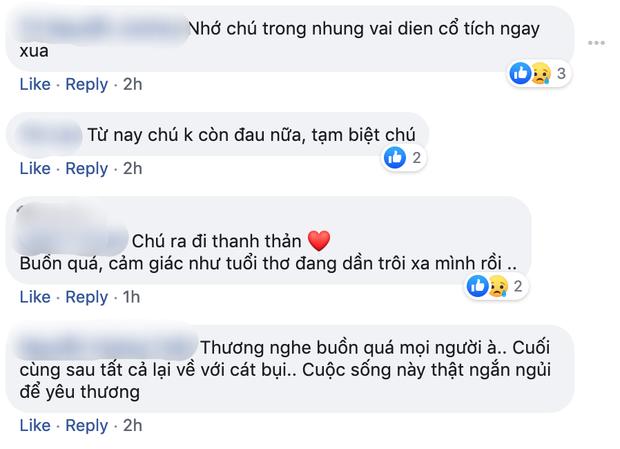CDM thương tiếc nói lời chia tay với diễn viên Lê Bình: Bầy trẻ nay đều đã khôn lớn, mụ yêu tinh có thể nghỉ ngơi được rồi - Ảnh 6.