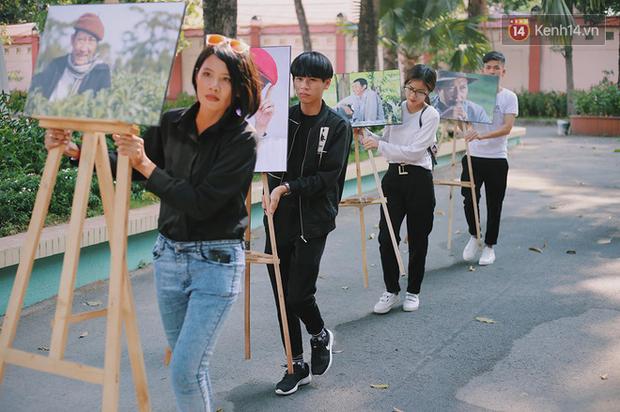 Hoa hậu Diễm Hương, MC Cát Tường và nhiều đồng nghiệp đến viếng đám tang cố nghệ sĩ Lê Bình - Ảnh 1.