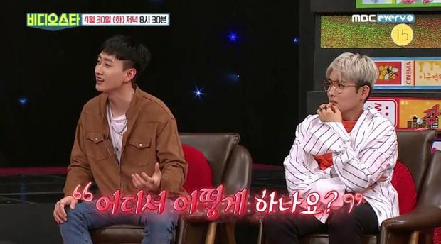 Bị hỏi về tình dục ngay trên talkshow, Super Junior chọn kẻ đỡ đạn bằng cách khó đỡ và có câu trả lời đầy ẩn ý - Ảnh 2.