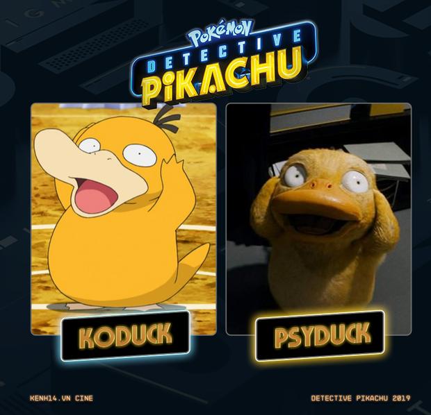 Tên dàn Pokémon trong DETECTIVE PIKACHU khác gì so với tuổi thơ của khán giả Việt? - Ảnh 13.