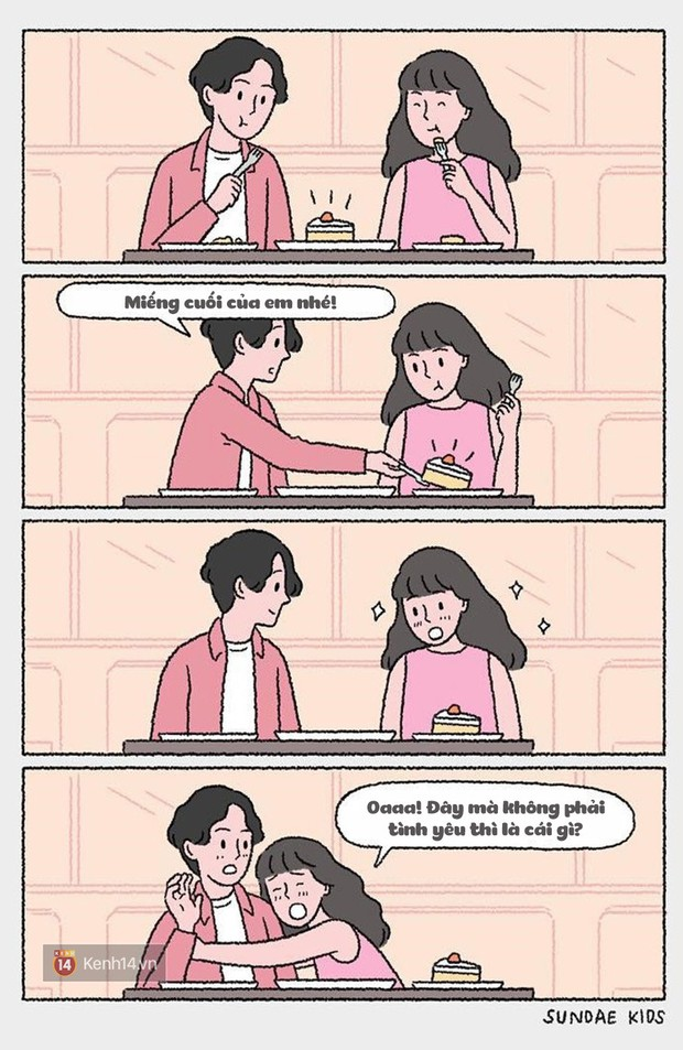Bộ tranh: Ủa tình yêu sao mà rắc rối, kì lạ nhưng lại dễ thương thế? - Ảnh 5.