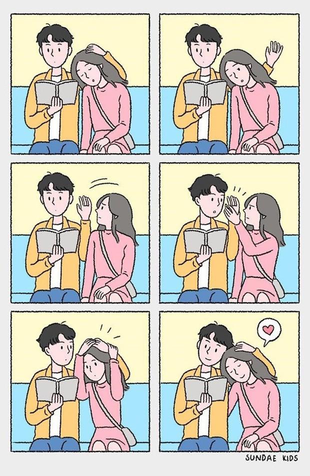 Bộ tranh: Ủa tình yêu sao mà rắc rối, kì lạ nhưng lại dễ thương thế? - Ảnh 13.