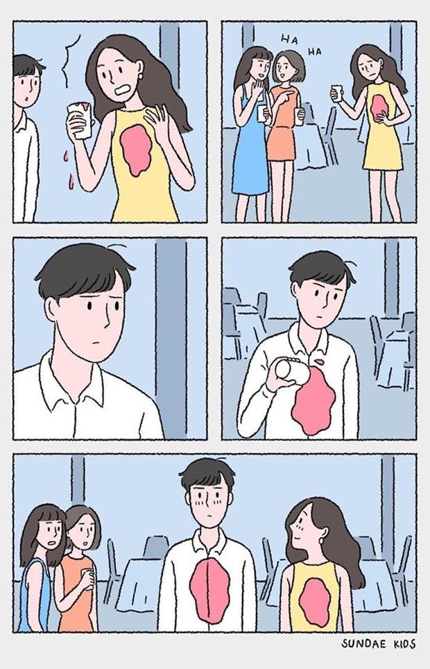 Bộ tranh: Ủa tình yêu sao mà rắc rối, kì lạ nhưng lại dễ thương thế? - Ảnh 17.