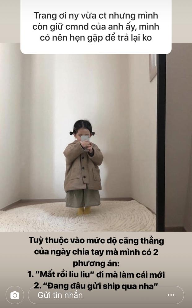 Fan lục đục tình cảm vì người yêu cứ cho bạn nữ cùng lớp mượn dép, Mai Vân Trang lấy ngay drama Tấm Cám cho lời khuyên cực gắt - Ảnh 4.
