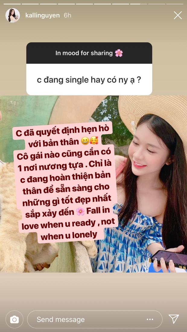 Vừa mới khoe bạn trai giấu mặt và hứa sẽ mãi yêu, 1 tuần sau bạn gái tin đồn của Phan Hoàng đã nhận mình single? - Ảnh 3.