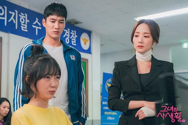 Hậu tỏ tình, Park Min Young lại khiến người yêu tức điên vì dám qua đêm với anh trai nuôi trong Her Private Life! - Ảnh 14.
