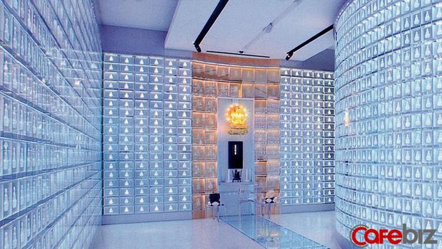 Nghĩa trang thời công nghệ 4.0 tại Nhật: Xây tháp cao ngay tại Tokyo, người thân có thể thăm viếng, đọc kinh niệm Phật bằng smartphone - Ảnh 3.
