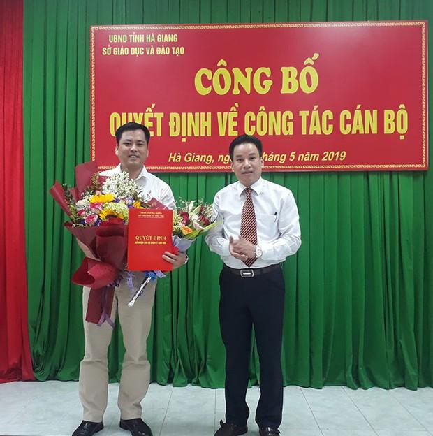 Hà Giang có Trưởng phòng khảo thí mới sau 9 tháng bê bối thi cử - Ảnh 1.
