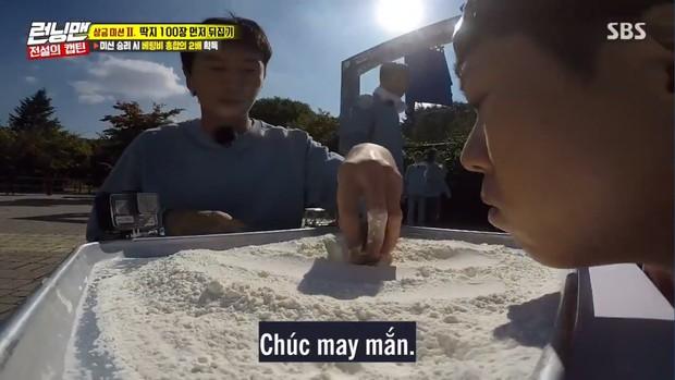 Nhìn Lan Ngọc lấm lem thế này phải chăng Running Man Việt đã phạt người chơi ăn bột? - Ảnh 13.