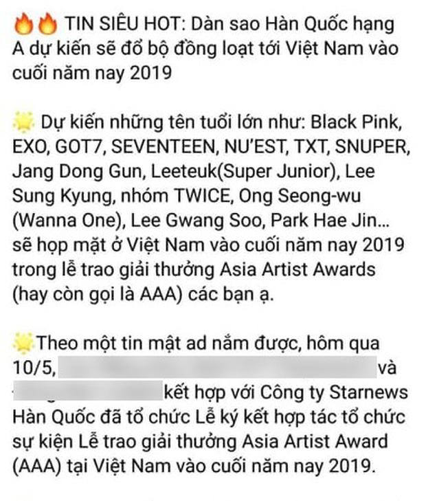Tin nổi không: Lễ trao giải khủng xứ Hàn sắp tổ chức tại Việt Nam, hội tụ BLACKPINK, Jang Dong Gun và quân đoàn idol? - Ảnh 1.