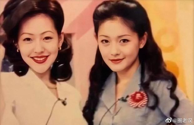 Ảnh phục chế hot nhất Weibo hôm nay: Chị em Đại S ngày bé xinh xuất sắc, nhưng cô em giờ tuột dốc không phanh - Ảnh 3.