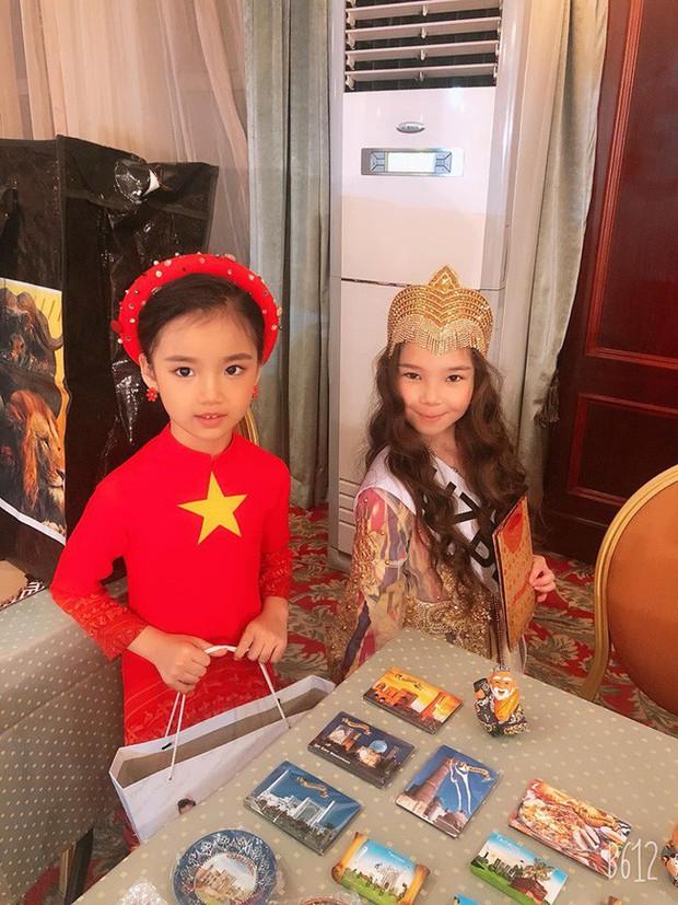 Nhan sắc đời thường trong trẻo của cô bé vừa đăng quang Hoa hậu Hoàn vũ nhí thế giới 2019 - Ảnh 3.