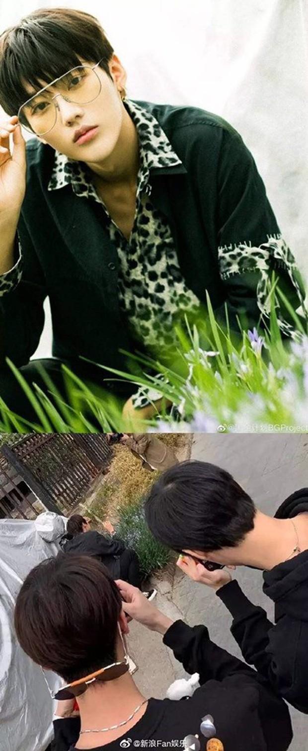 Ảnh của Lâm Canh Tân hot nhất Weibo hôm nay: Hoá ra để có 1 khoảnh khắc đẹp thì hình tượng lại thảm thế này! - Ảnh 9.