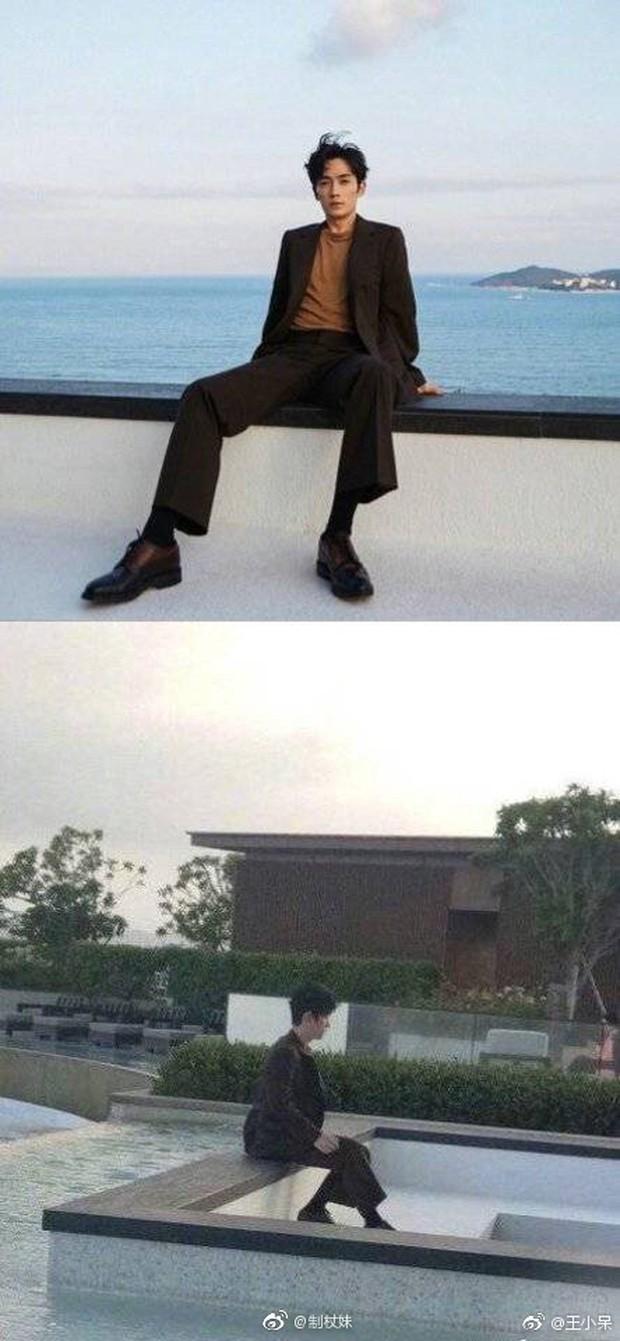 Ảnh của Lâm Canh Tân hot nhất Weibo hôm nay: Hoá ra để có 1 khoảnh khắc đẹp thì hình tượng lại thảm thế này! - Ảnh 6.