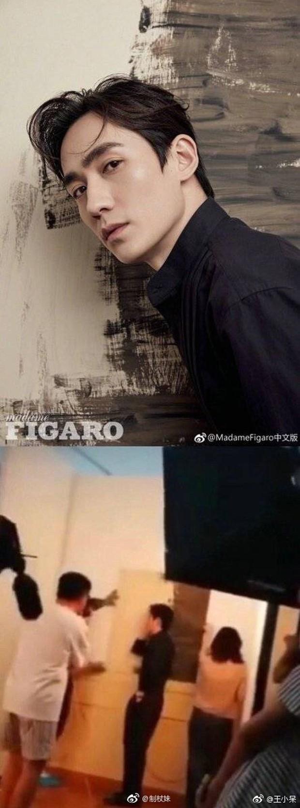 Ảnh của Lâm Canh Tân hot nhất Weibo hôm nay: Hoá ra để có 1 khoảnh khắc đẹp thì hình tượng lại thảm thế này! - Ảnh 8.