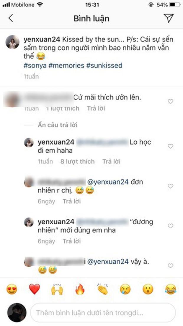 Bị anti-fan comment soi mói, bạn gái Lâm Tây phản dame rồi còn sửa luôn lỗi chính tả như cô giáo thế này! - Ảnh 1.
