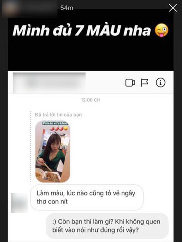 Bị anti-fan comment soi mói, bạn gái Lâm Tây phản dame rồi còn sửa luôn lỗi chính tả như cô giáo thế này! - Ảnh 3.