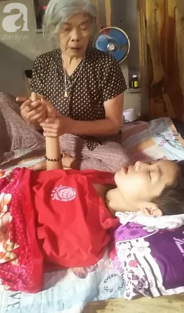 Vợ và con trai 16 tuổi mắc bệnh u não, người chồng nghèo bất lực giành giật sự sống từng ngày cho 2 mẹ con - Ảnh 9.